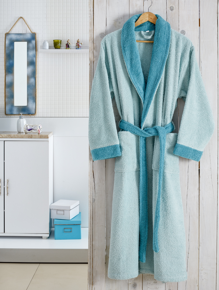 Сауны, бани и оборудование Karna Халат Adra Цвет: Ментоловый (S-M)