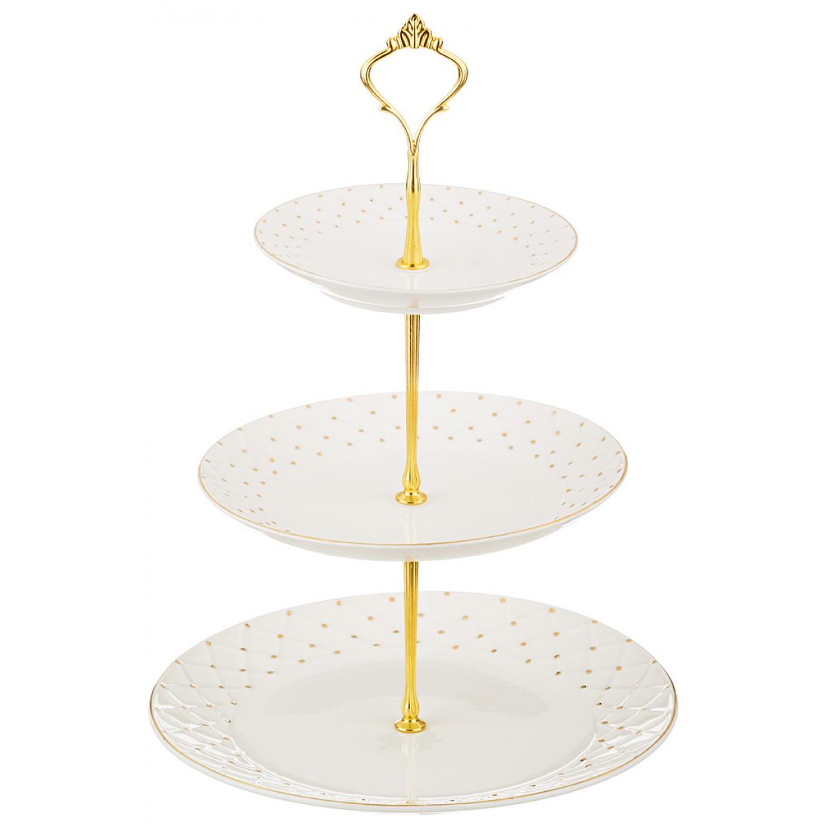 {} Lefard Тарелка-этажерка Bergerac  (25 см) lefard тарелка millie 20 см