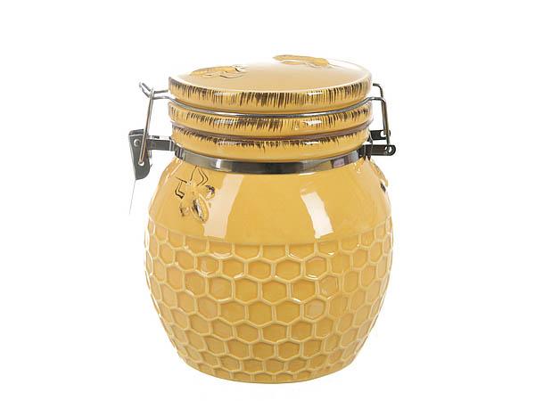 {} ENS GROUP Банка для сыпучих Пчелка (10х10х12 см) банка для сыпучих продуктов ens group пчелка 370 мл