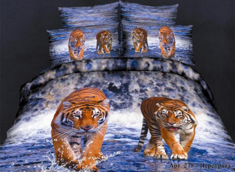 Постельное белье Diva Afrodita Постельное белье Переправа (2 спал.) постельное белье diva afrodita постельное белье бамбуковый медведь 2 спал