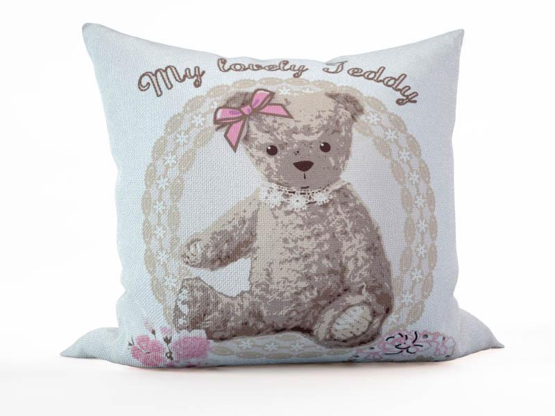 Декоративные подушки StickButik Декоративная подушка Розовый Мишка (45х45)