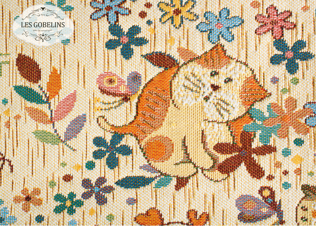 Детские покрывала, подушки, одеяла Les Gobelins Детская Накидка на диван Chatons Animes (130х180 см)