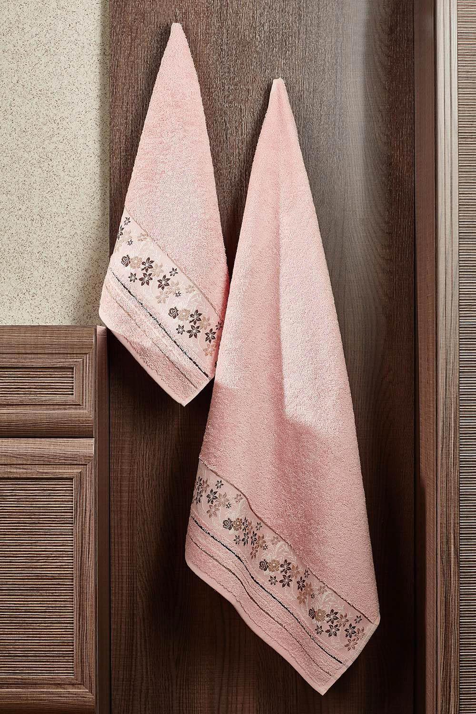 Полотенца Primavelle Полотенце Mile Цвет: Сухая Роза (50х90 см) цена и фото