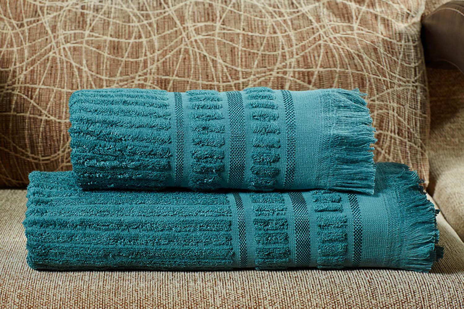 Полотенца Primavelle Полотенце Marco Цвет: Темно-Бирюзовый (70х140 см) цена и фото