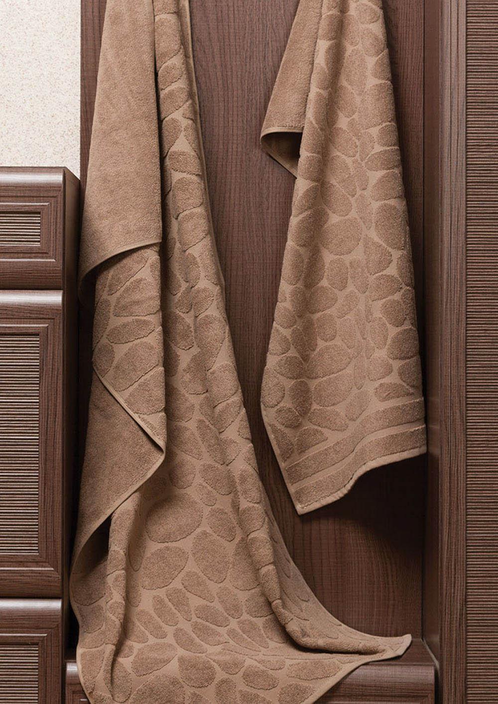 Полотенца Primavelle Полотенце Piera Цвет: Коричневый (50х90 см) цена и фото