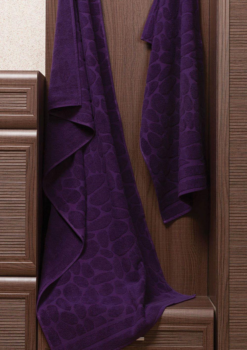 Полотенца Primavelle Полотенце Piera Цвет: Фиолетовый (50х90 см) цена и фото