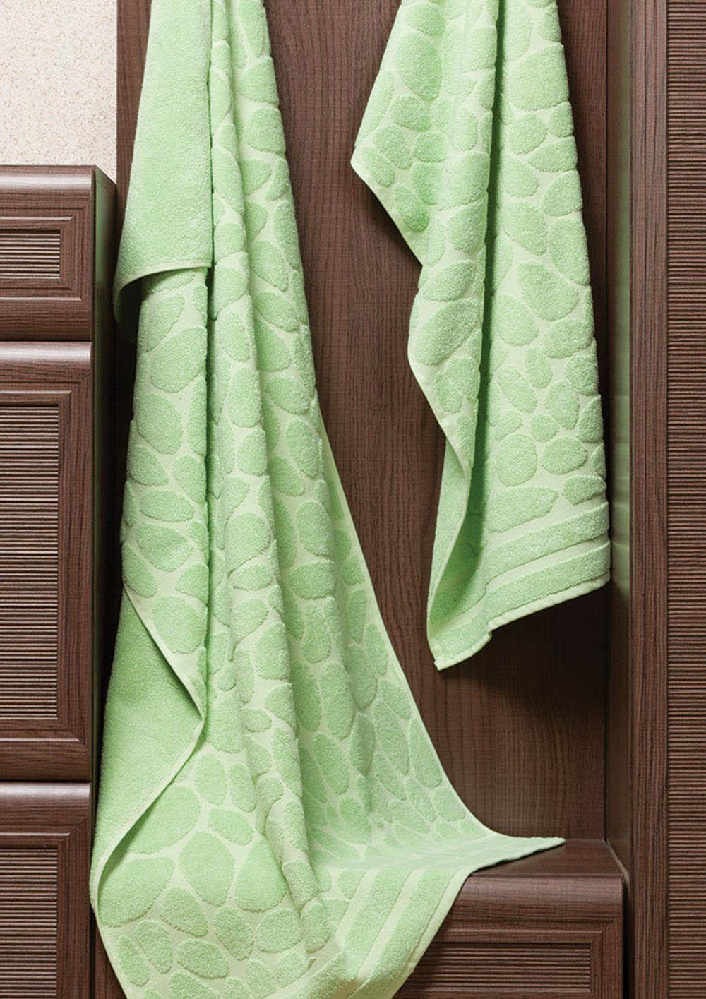 Полотенца Primavelle Полотенце Piera Цвет: Зеленый (50х90 см) цена и фото
