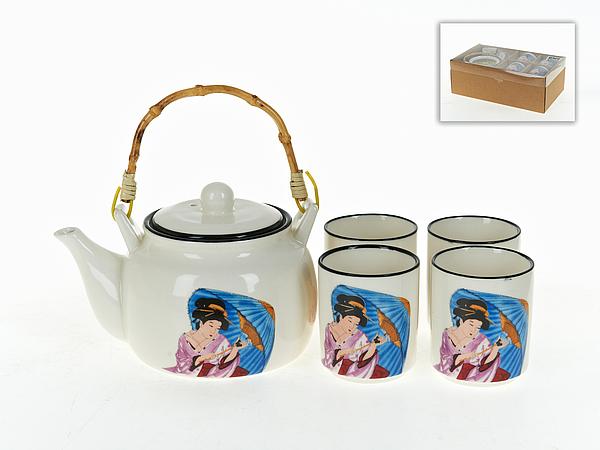 {} ENS GROUP Чайный сервиз Гейша (Набор) creative набор для творчества украшаем чайный сервиз