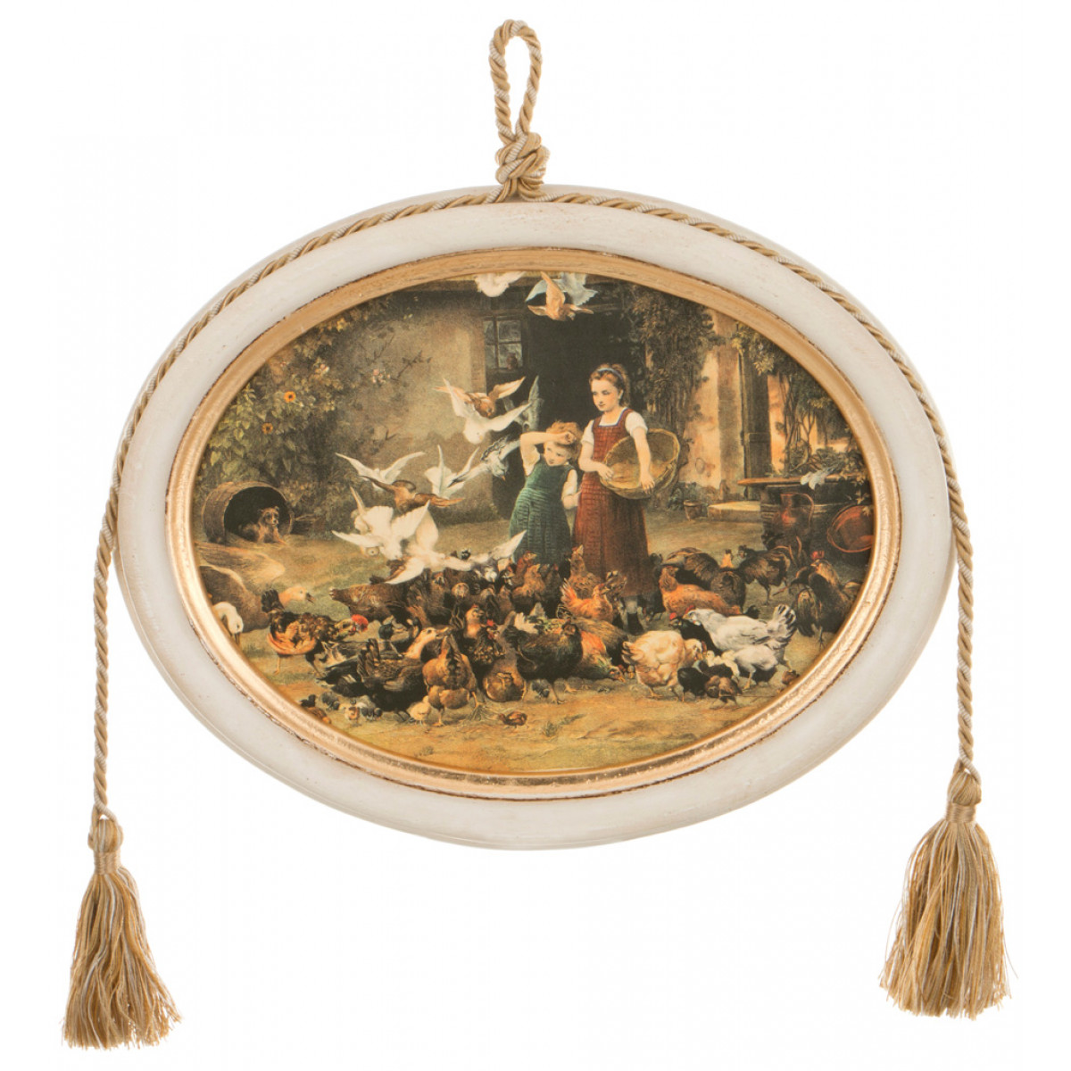 {} Dekor Toscana Картина Veronika (2х23х29 см) салфетки iq dekor дорожка хлопок 50х120
