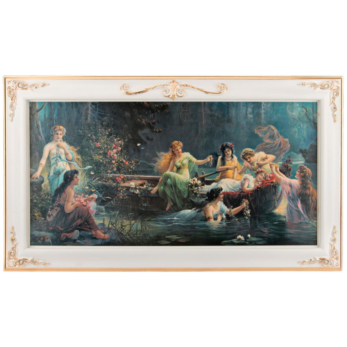{} Dekor Toscana Картина Nevin (5х66х116 см) салфетки iq dekor дорожка хлопок 50х120