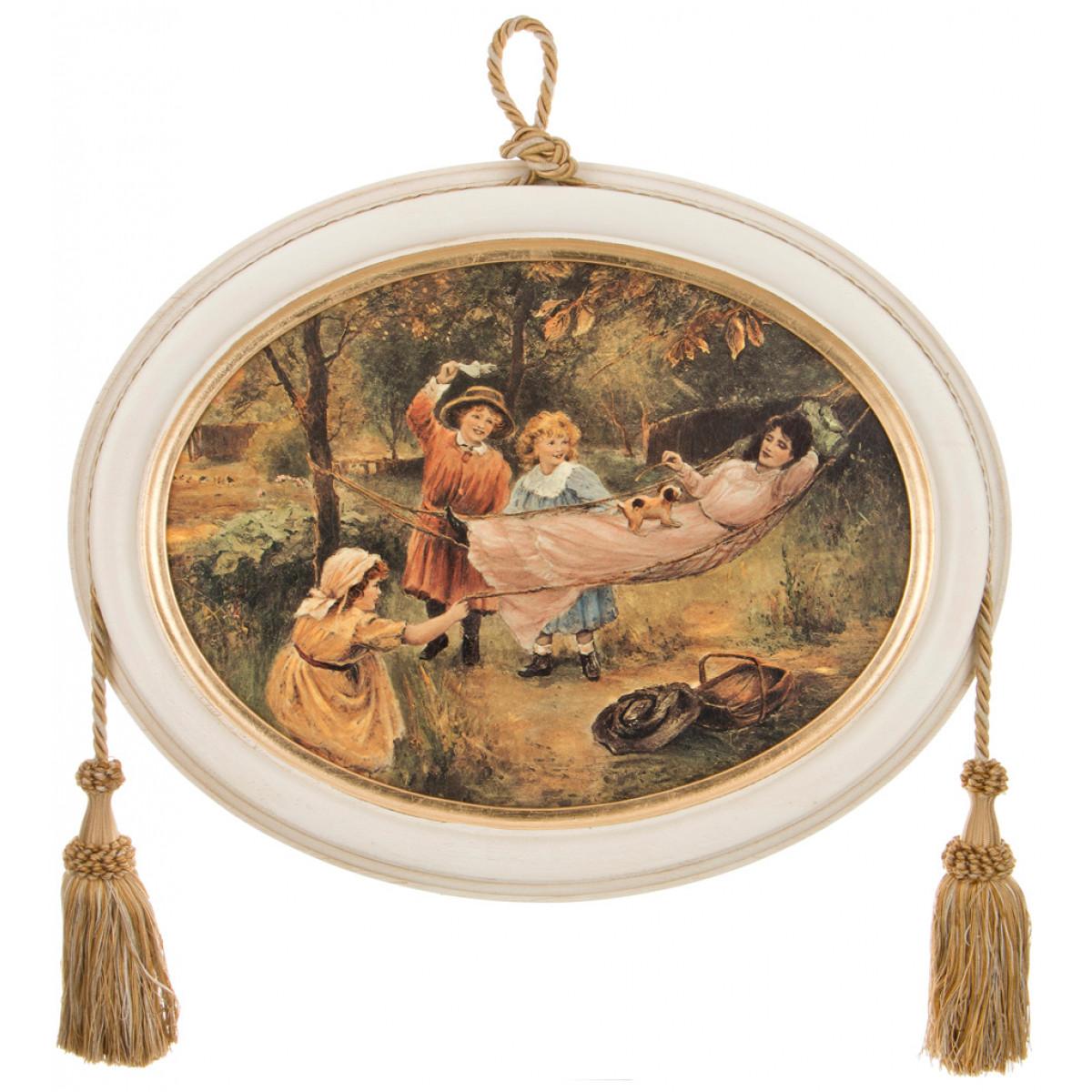 {} Dekor Toscana Картина Gabbiano (3х38х48 см) салфетки iq dekor дорожка хлопок 50х120