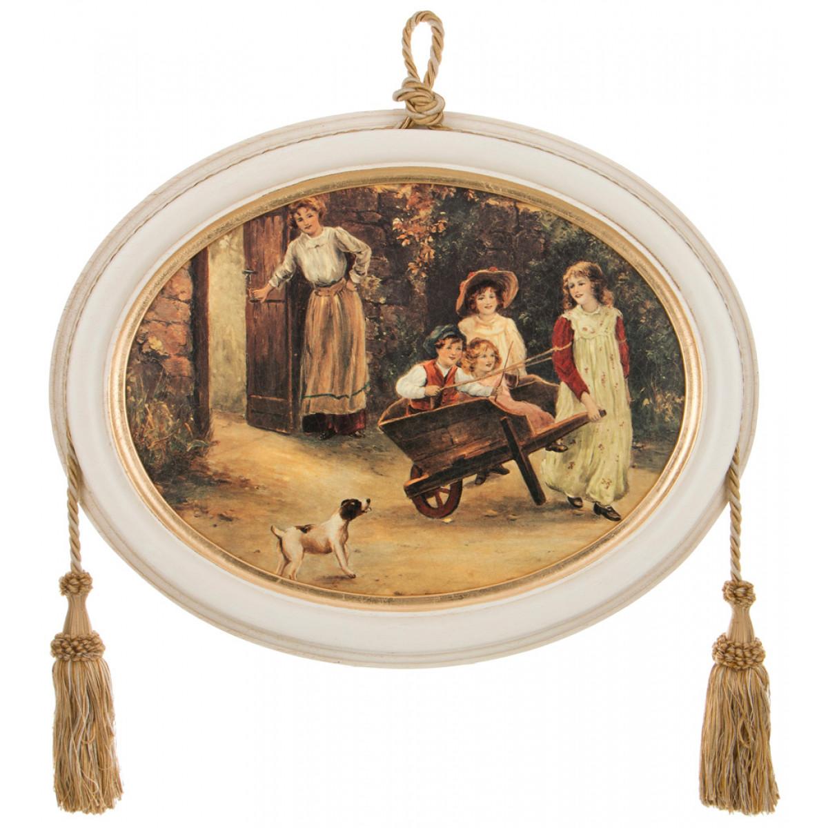 {} Dekor Toscana Картина Juniper (3х38х48 см) салфетки iq dekor дорожка хлопок 50х120