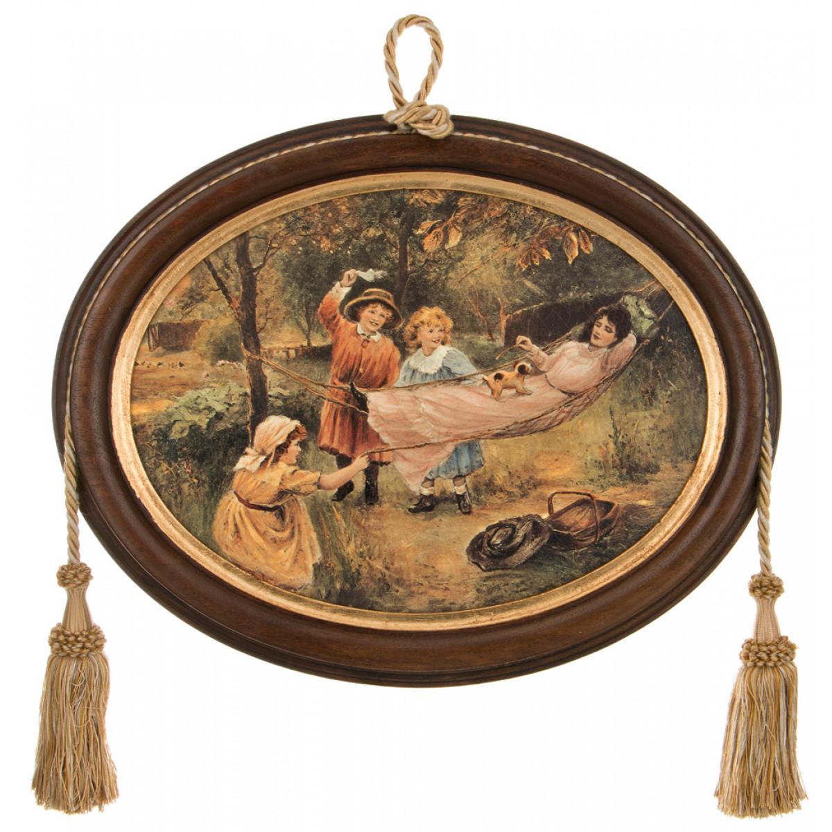 {} Dekor Toscana Картина Rylie (4х38х48 см) салфетки iq dekor дорожка хлопок 50х120