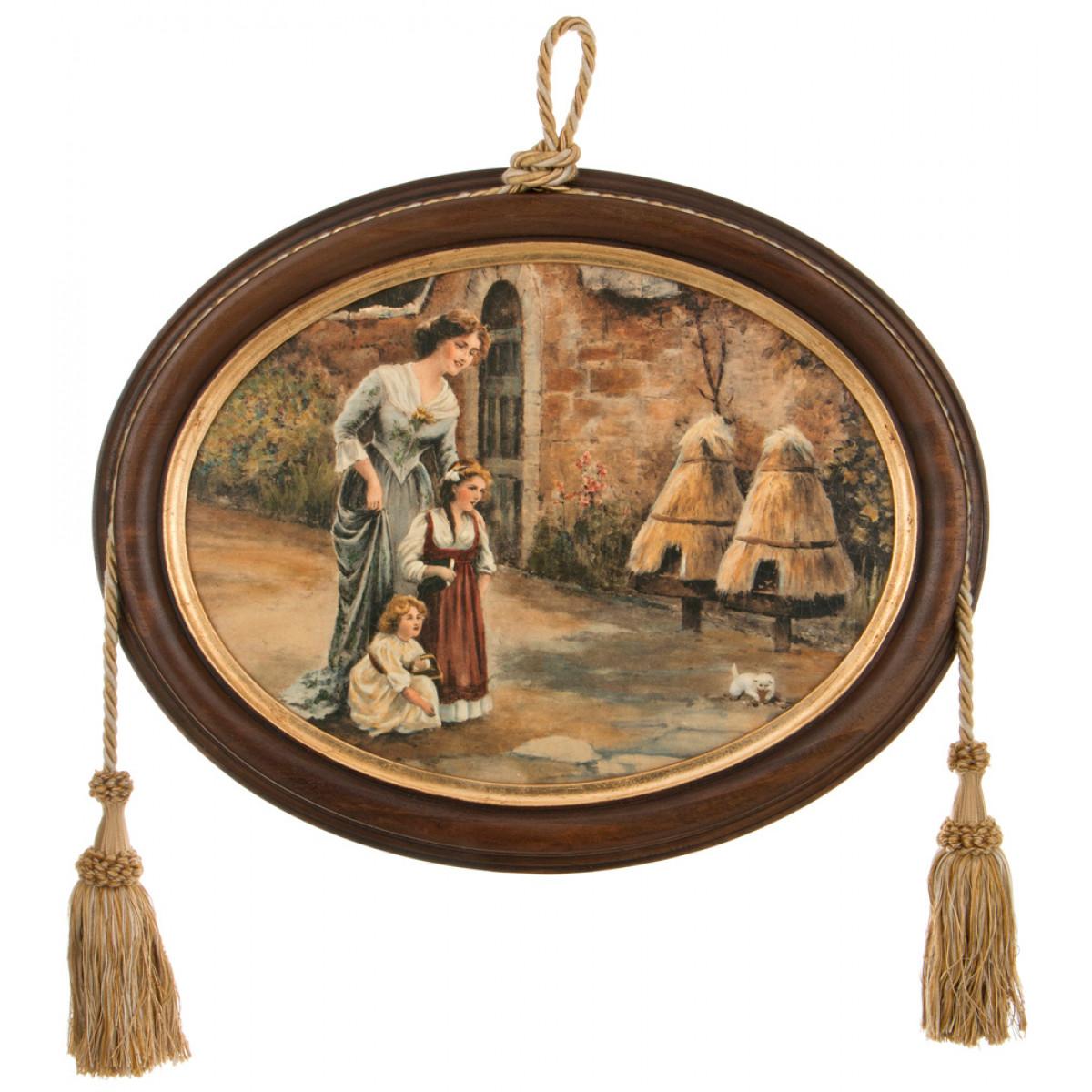 {} Dekor Toscana Картина Mya (4х38х48 см) салфетки iq dekor дорожка хлопок 50х120