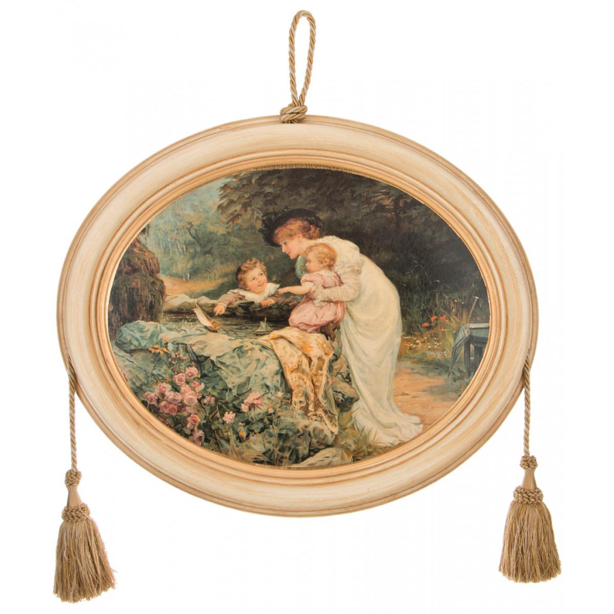 {} Dekor Toscana Картина Mea (4х50х60 см) салфетки iq dekor дорожка хлопок 50х120