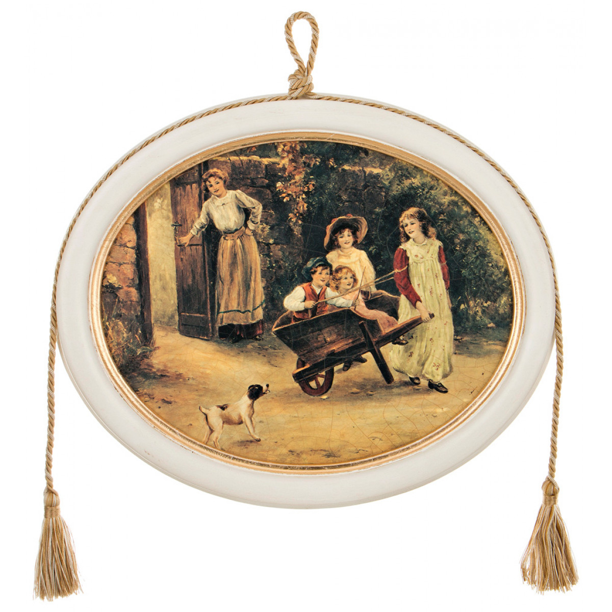 {} Dekor Toscana Картина Victoria (2х30х36 см) салфетки iq dekor дорожка хлопок 50х120