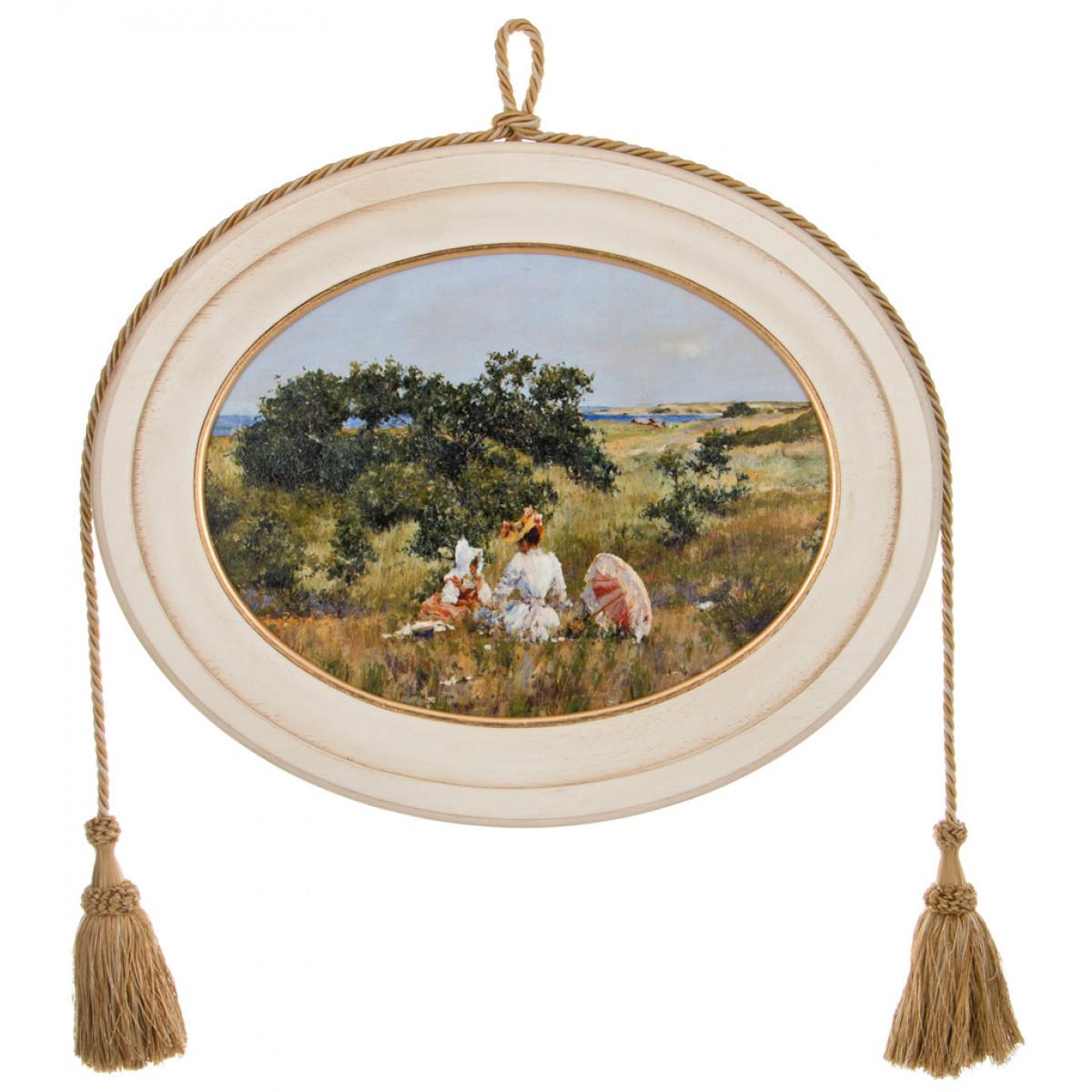 {} Dekor Toscana Картина Barbel (3х42х52 см) салфетки iq dekor дорожка хлопок 50х120