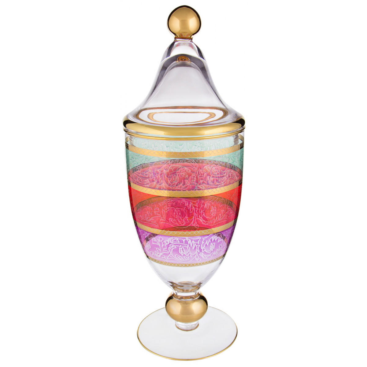{} Decotech Ваза Verve  (14х41 см) decotech ваза doriane 24 см
