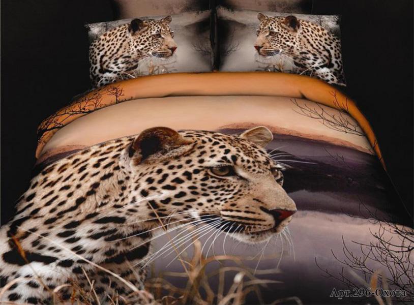 Постельное белье Diva Afrodita Постельное белье Охота (2 сп. евро) постельное белье 1 5 сп 70х70 diva afrodita постельное белье с рисунком