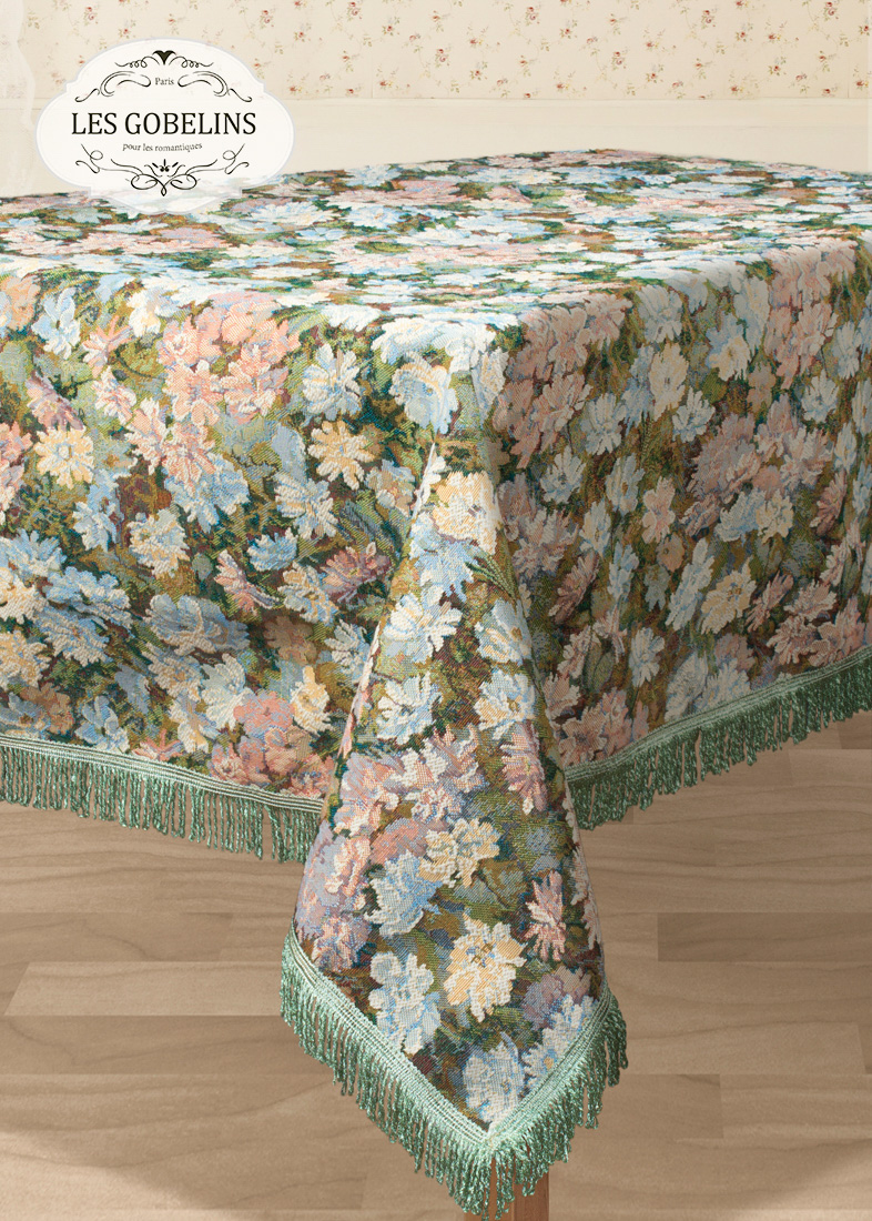 Скатерти и салфетки Les Gobelins Скатерть Nectar De La Fleur (160х260 см) купить samsung s5230 la fleur red