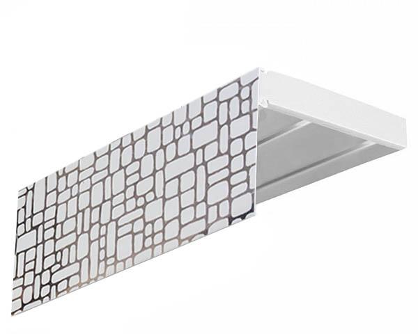 Карнизы и аксессуары для штор Эскар Карниз Мозаика (200 см) уровень stabila тип 80аm 200 см 16070