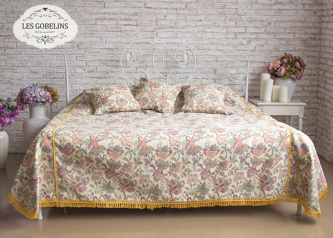 Покрывало Les Gobelins Покрывало на кровать Loche (140х220 см)