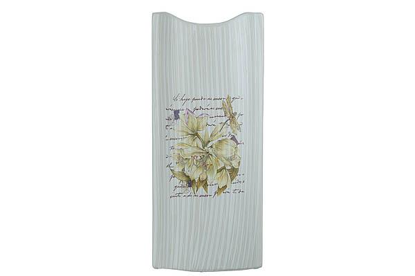 {} ENS GROUP Ваза Белая Лилия (17х7х39 см) ваза керамика напольная 60 см цветущая лилия 1044984