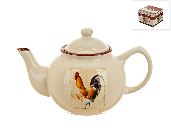 {} ENS GROUP Заварочный чайник Золотой Петушок (14х15х25 см) чайник заварочный ens group тоскана 900 мл
