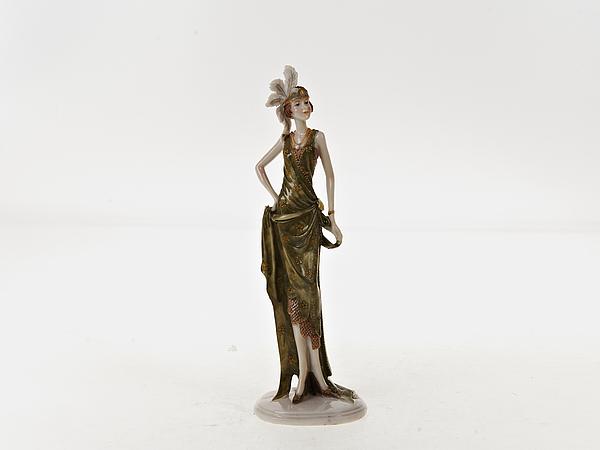 {} ENS GROUP Статуэтка Lady (7х9х28 см) ens group статуэтка lady 7х9х28 см