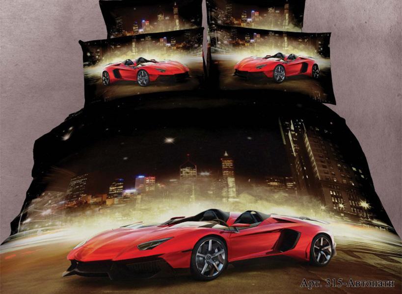 Постельное белье Diva Afrodita Постельное белье Автопати (2 сп. евро) постельное белье 1 5 сп 70х70 diva afrodita постельное белье с рисунком