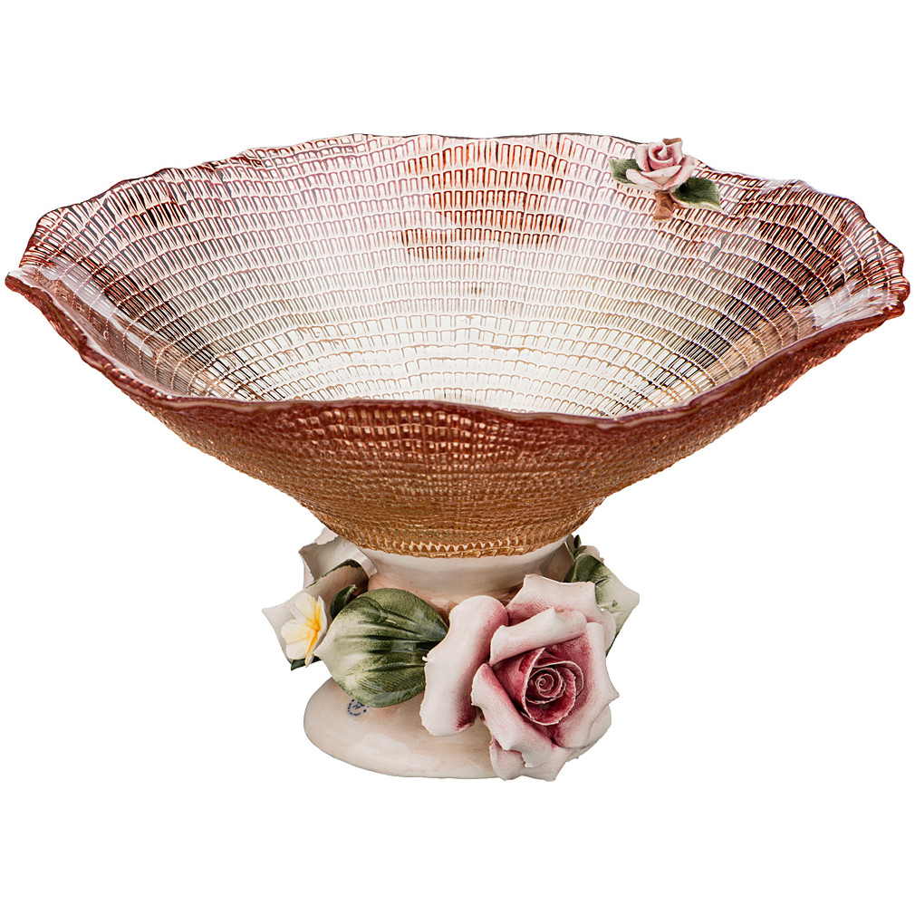 {} Franco s.r.l. Декоративная чаша Allger (13х22 см) millennio чаша декоративная kennith 12х34х35 см