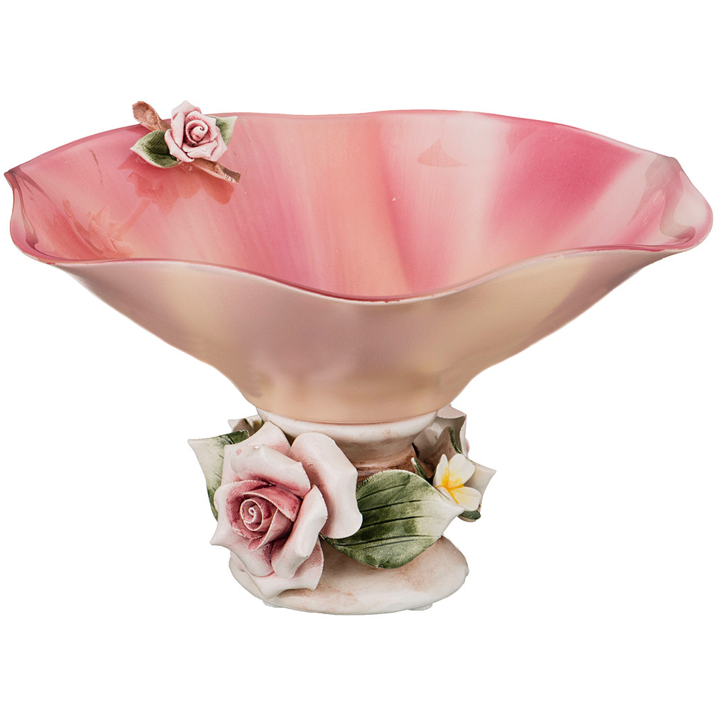 {} Franco s.r.l. Декоративная чаша Chelle (12х22 см) millennio чаша декоративная kennith 12х34х35 см