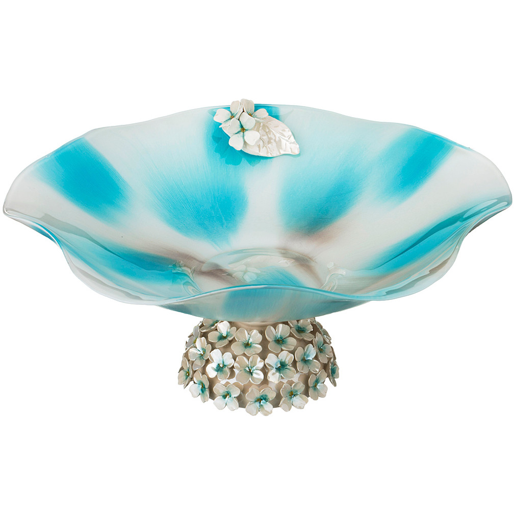 {} Franco s.r.l. Декоративная чаша Kayleigh (15х35 см) millennio чаша декоративная kennith 12х34х35 см