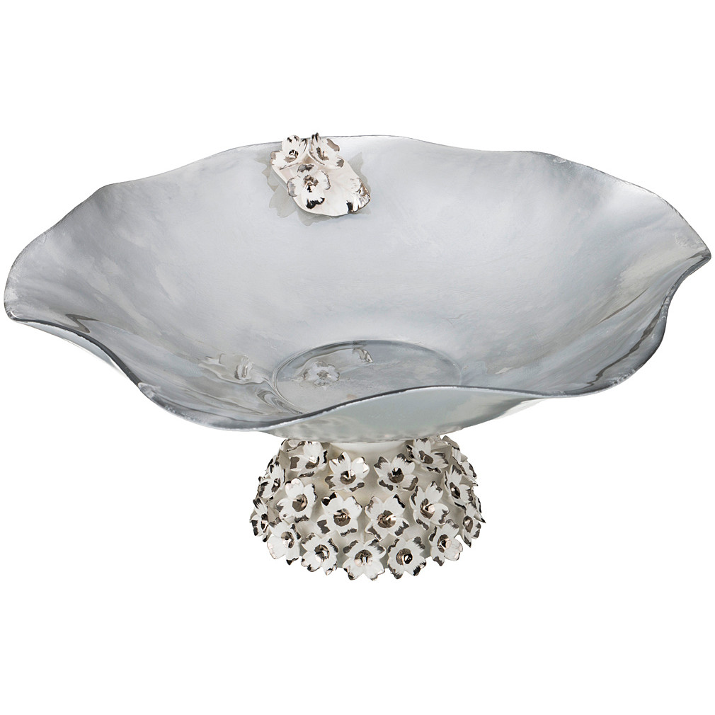 {} Franco s.r.l. Декоративная чаша Nan (16х36 см) millennio чаша декоративная kennith 12х34х35 см