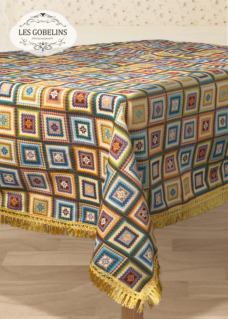 Скатерти и салфетки Les Gobelins Скатерть Labyrinthe (150х230 см) скатерть прямоугольная 150х230 niklen скатерть прямоугольная 150х230