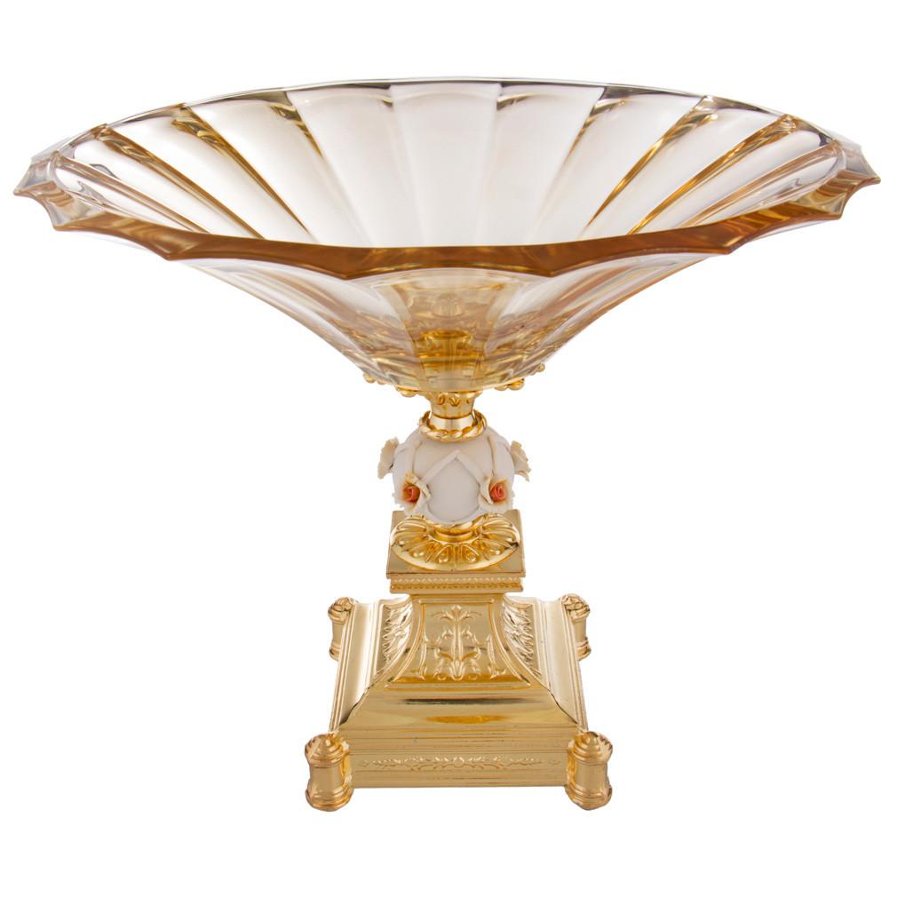 {} Franco & C Чаша декоративная Saranna (28х34 см) millennio чаша декоративная kennith 12х34х35 см