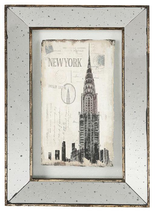 {} ARTEVALUCE Панно New York (41х61 см) colibri панно new york