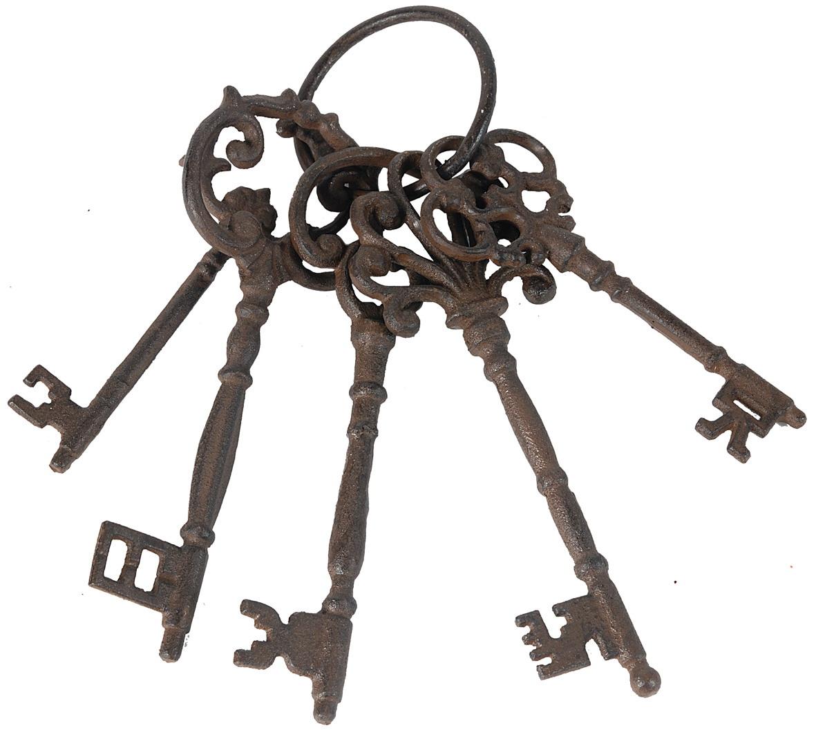 {} ARTEVALUCE Подвеска Связка Ключей (7х8х27 см) клинок brusletto falken 8 7 см