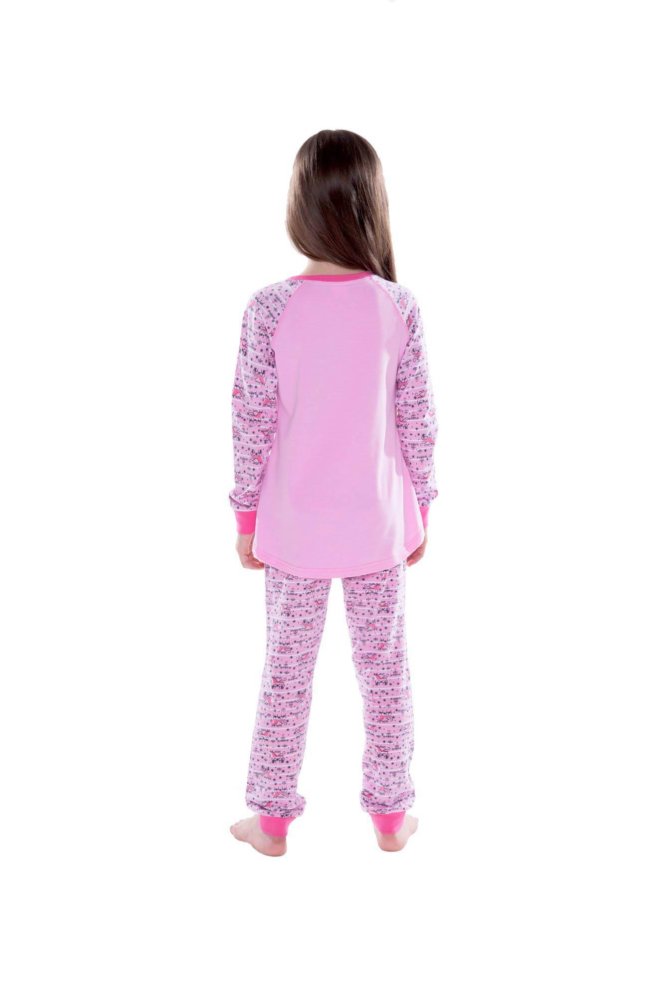 Детские пижамы Juno Детская пижама Winter Цвет: Розовый (2-3 года)