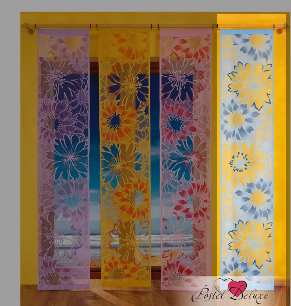 Шторы Wisan Японские шторы Панно Цвет: Голубой