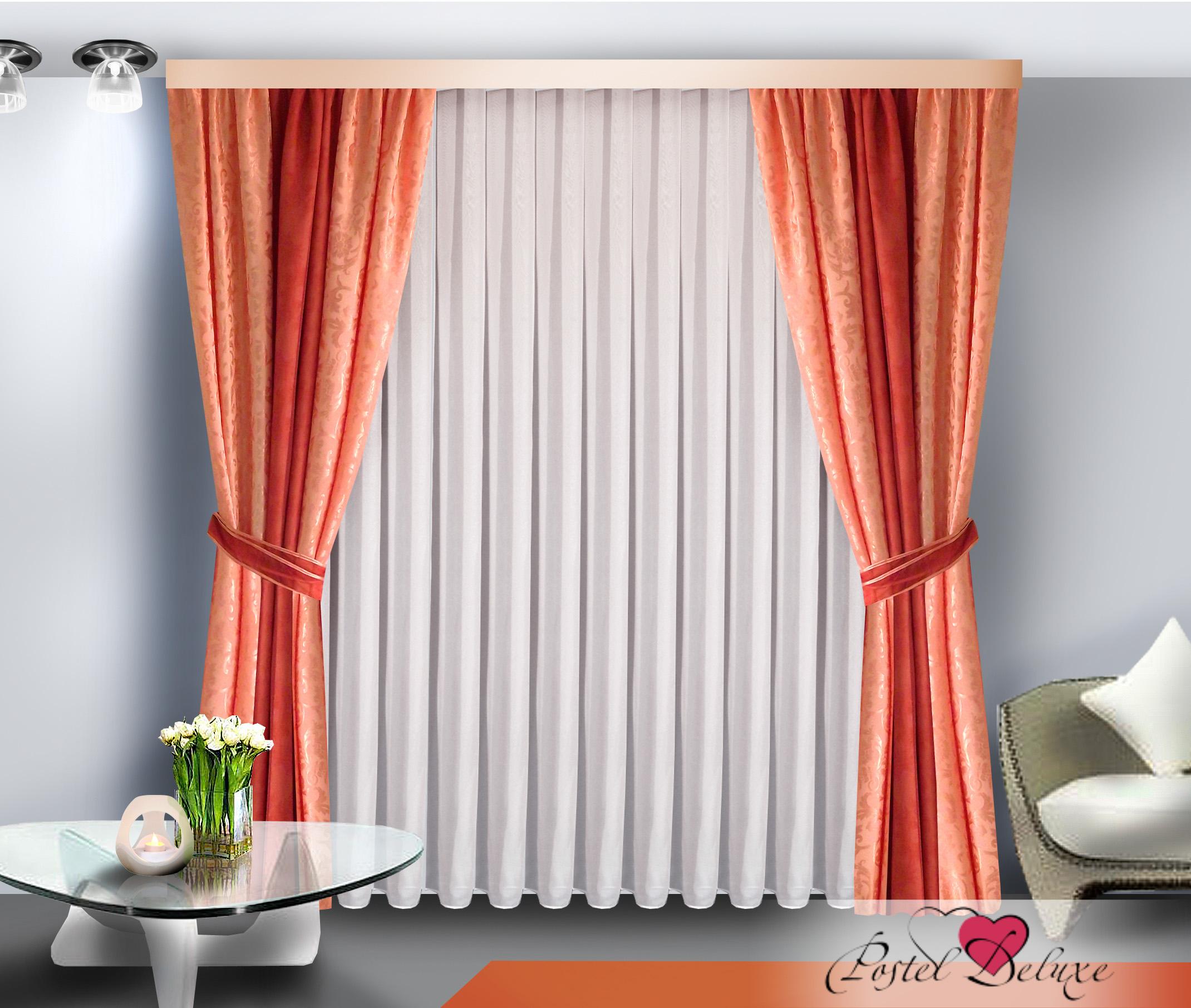 Шторы Zlata Korunka Классические шторы Цвет: Розовый шторы tac классические шторы winx цвет персиковый 200x265 см
