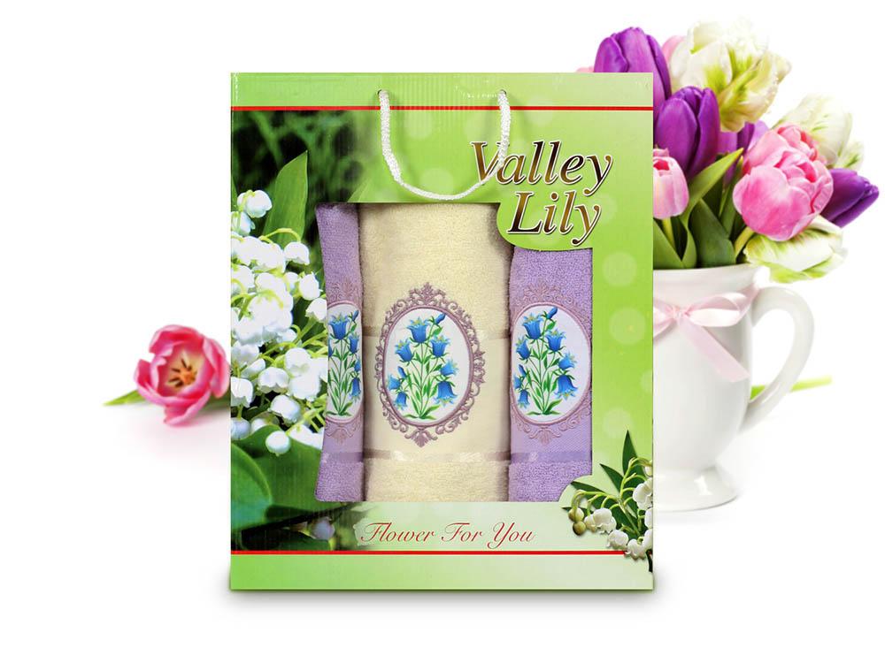 Полотенца Gulcan Полотенце Valley Lily (Набор) полотенца банные spasilk полотенце 3 шт