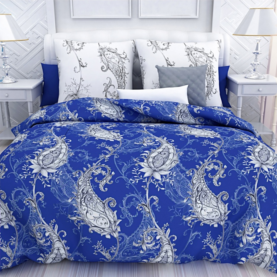Постельное белье Унисон Постельное белье Индиго (1,5 спал.) унисон постельное белье