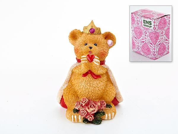 {} ENS GROUP Копилка Мишка-Король (11 см) копилка мишка с галстуком