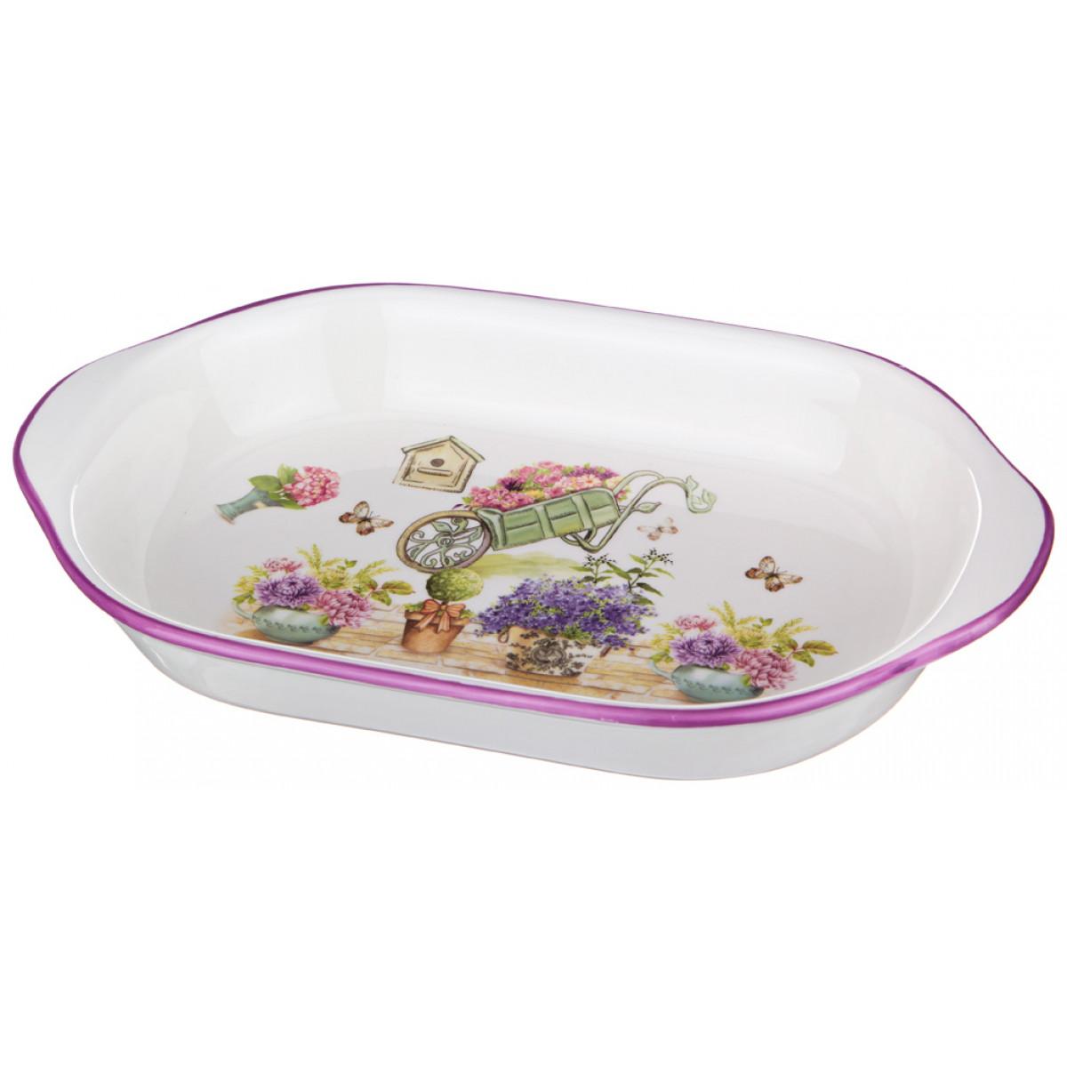 {} Agness Сервиз Bob (5х18х28 см) блюдо шубница корейская роза 29 18 5 см