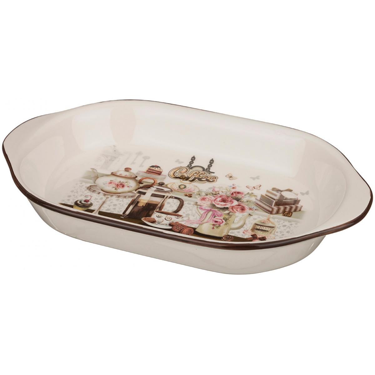 {} Agness Сервиз Kerenhapuch (5х18х28 см) блюдо шубница корейская роза 29 18 5 см