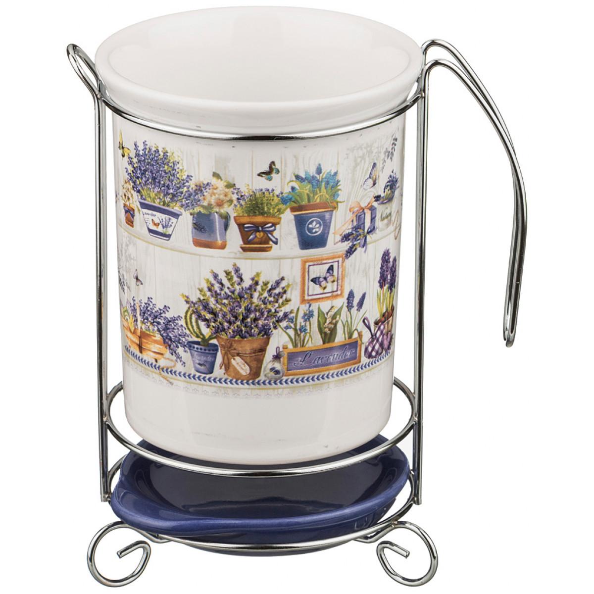 {} Agness Подставка для кухни Kennard  (11х11х16 см) подставка terracotta дерево жизни д кухонных инструм керамика