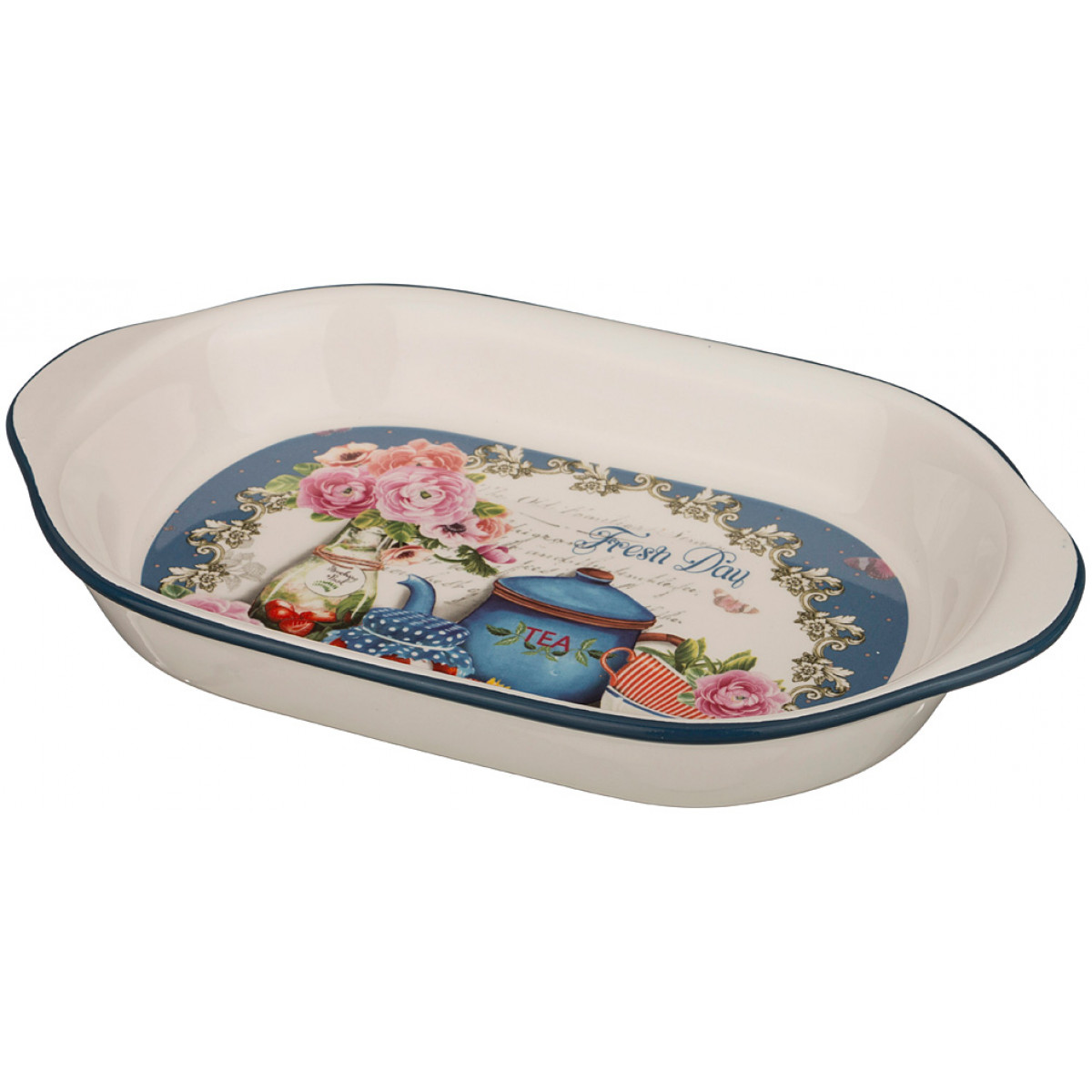 {} Agness Сервиз Erynn (5х18х28 см) блюдо шубница корейская роза 29 18 5 см
