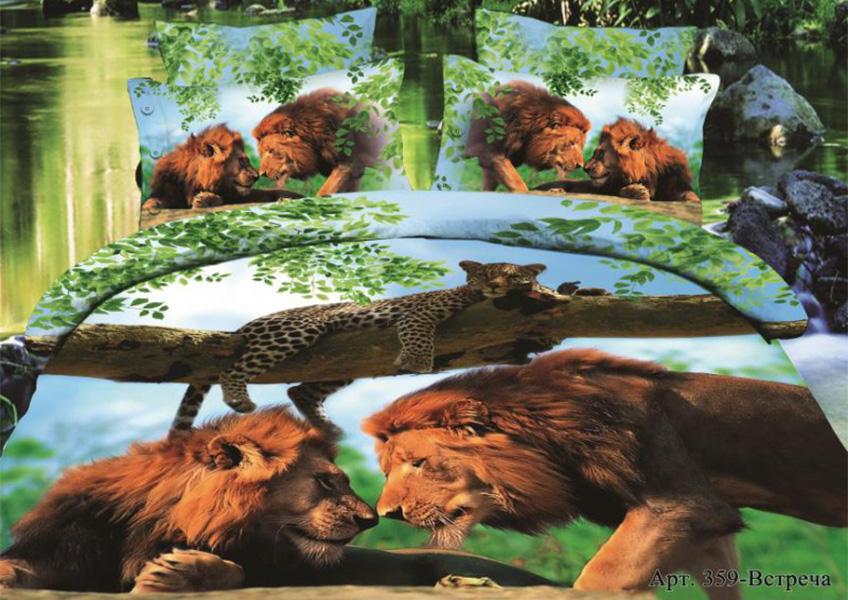 Постельное белье Diva Afrodita Постельное белье Встреча (2 спал.) постельное белье diva afrodita постельное белье бамбуковый медведь 2 спал