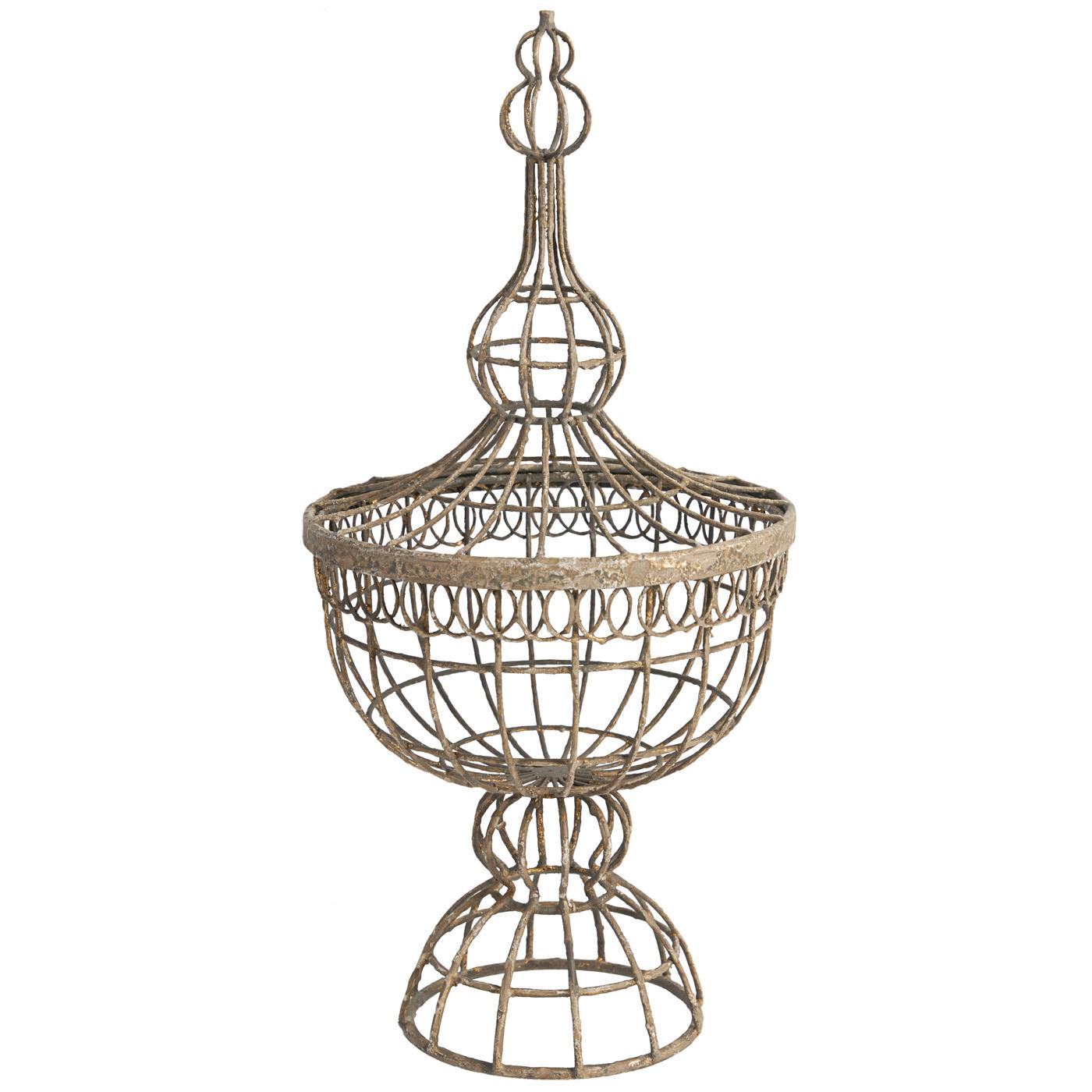 {} ARTEVALUCE Ваза Tristen (27х56 см) artevaluce светильник подвесной cage filament 15х24 см